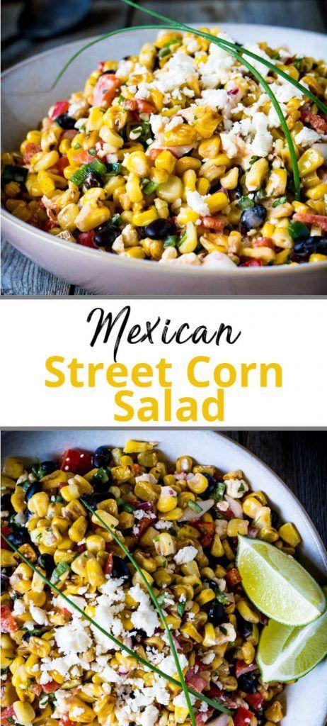 Easy Mexican Street Corn Salad Recipe!