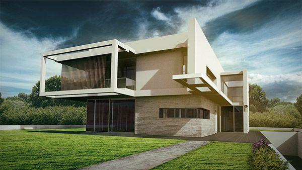 3D Rendering | Architecture Haus Architektur Gebäude Visualisierung