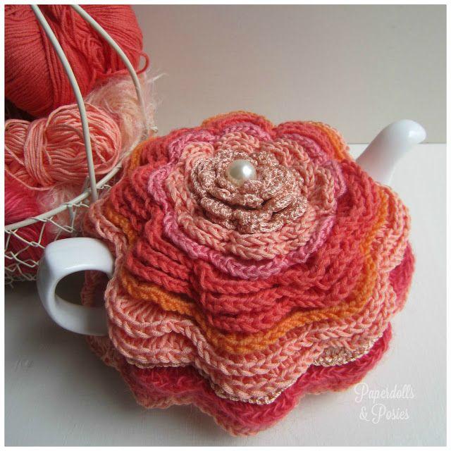 Tea cosy   Craft - Tea Pot   Pinterest   Teteras, Agarraderas y Hora ...