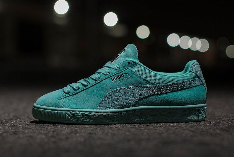 03830bf921b9 The Diamond Supply Co. x Puma Classic Suede collection is releasing soon.  Following the release of the Puma Clyde