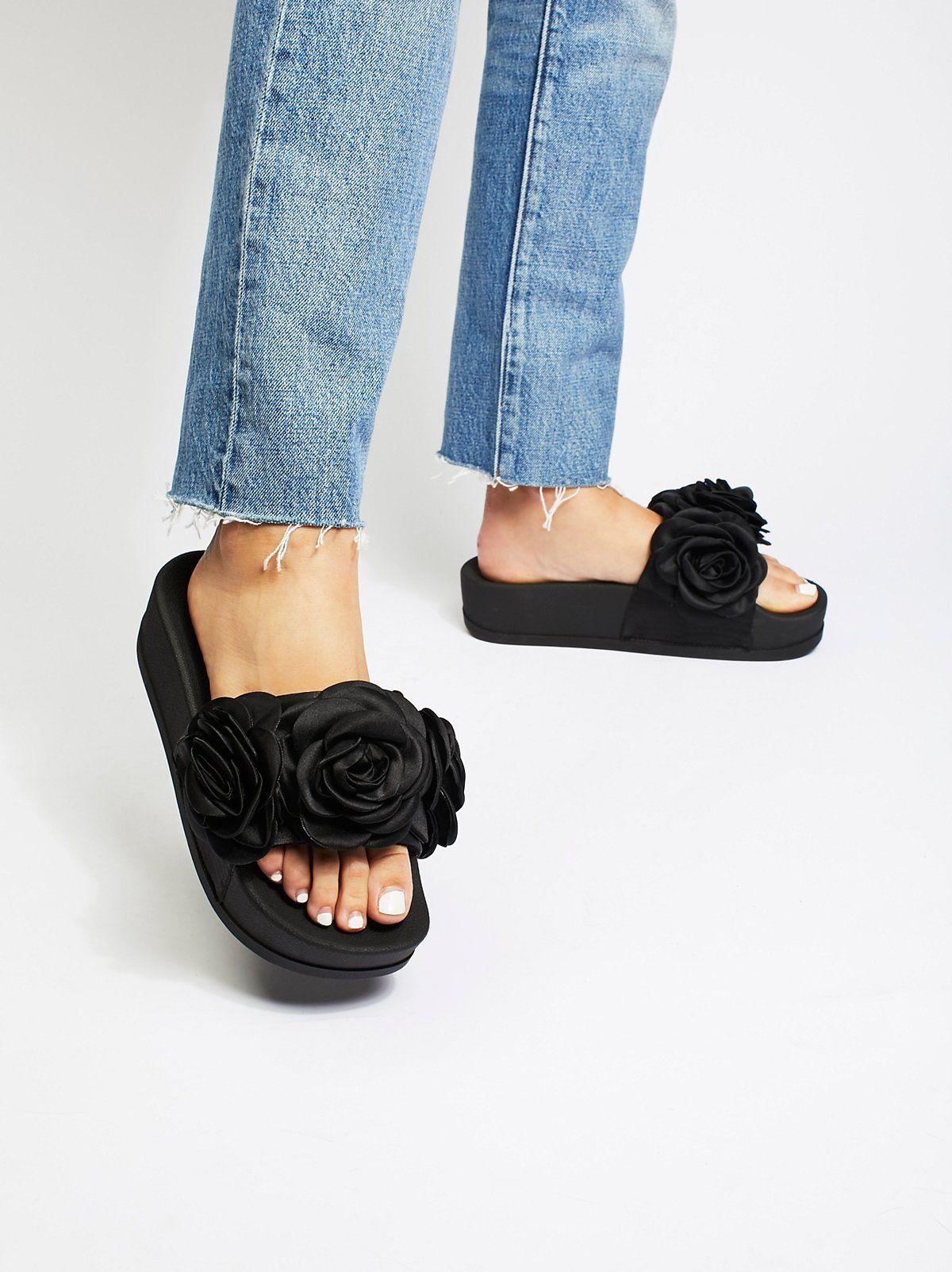 11b857cd6a0c41 Eddie Rose Flatform Sandal