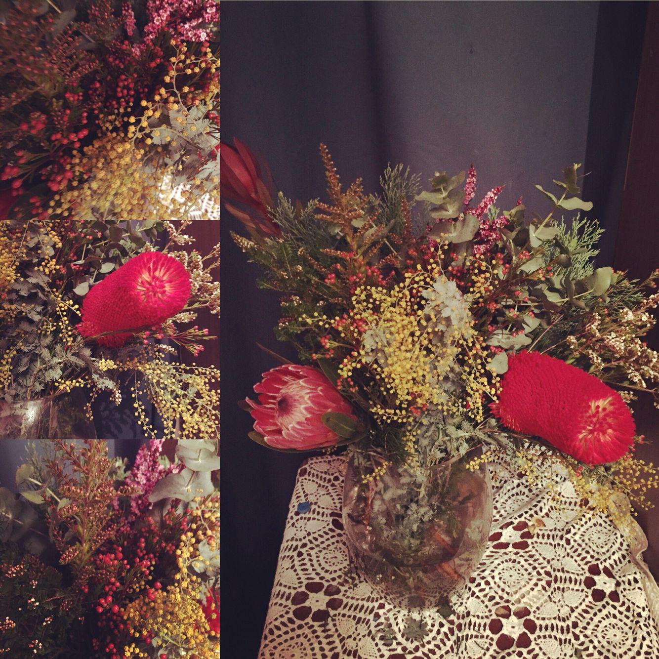 Wildflowers I brought yesterday (6/7/2015).