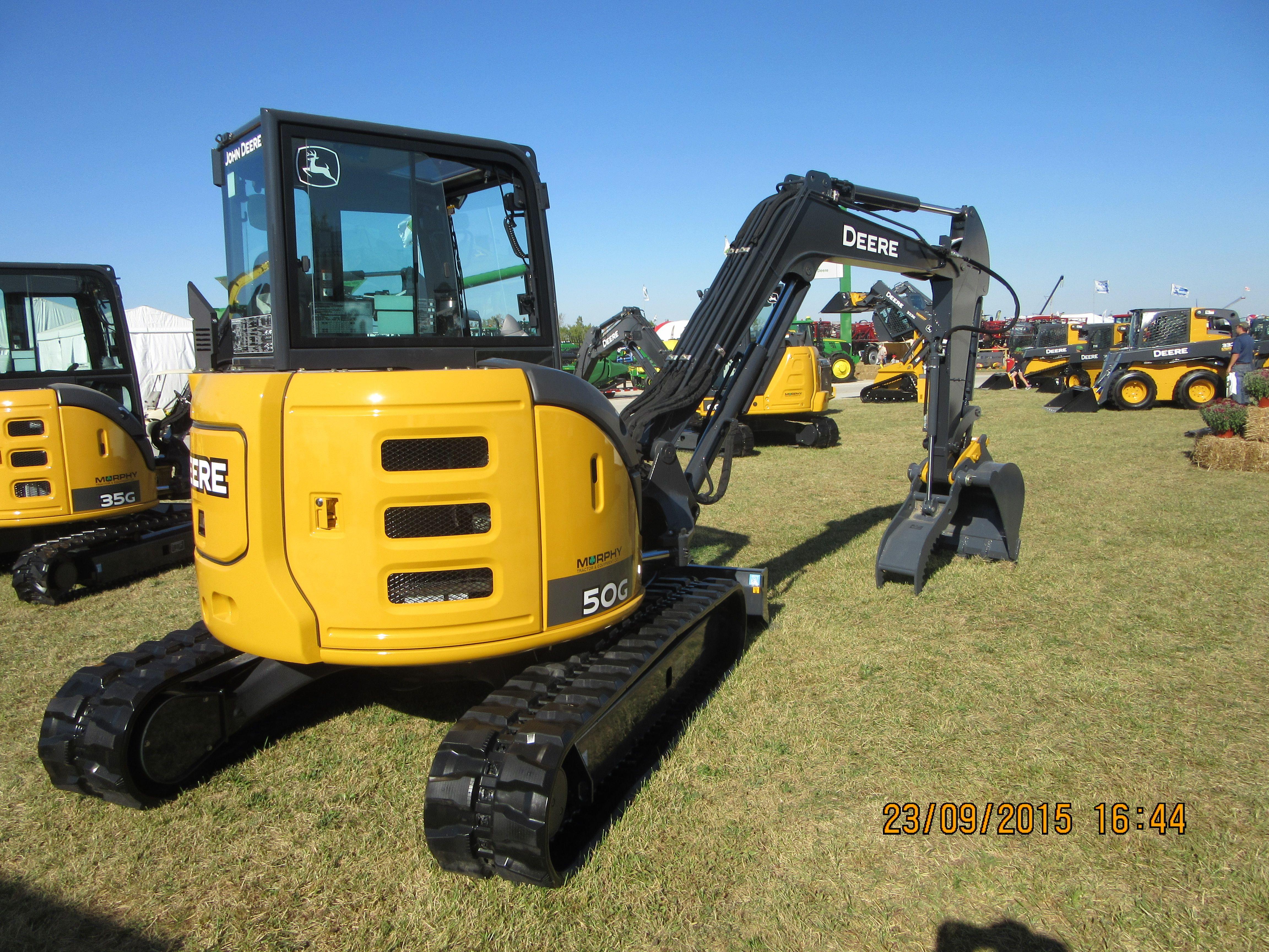 John Deere 50G | JD construction equipment | Heavy equipment