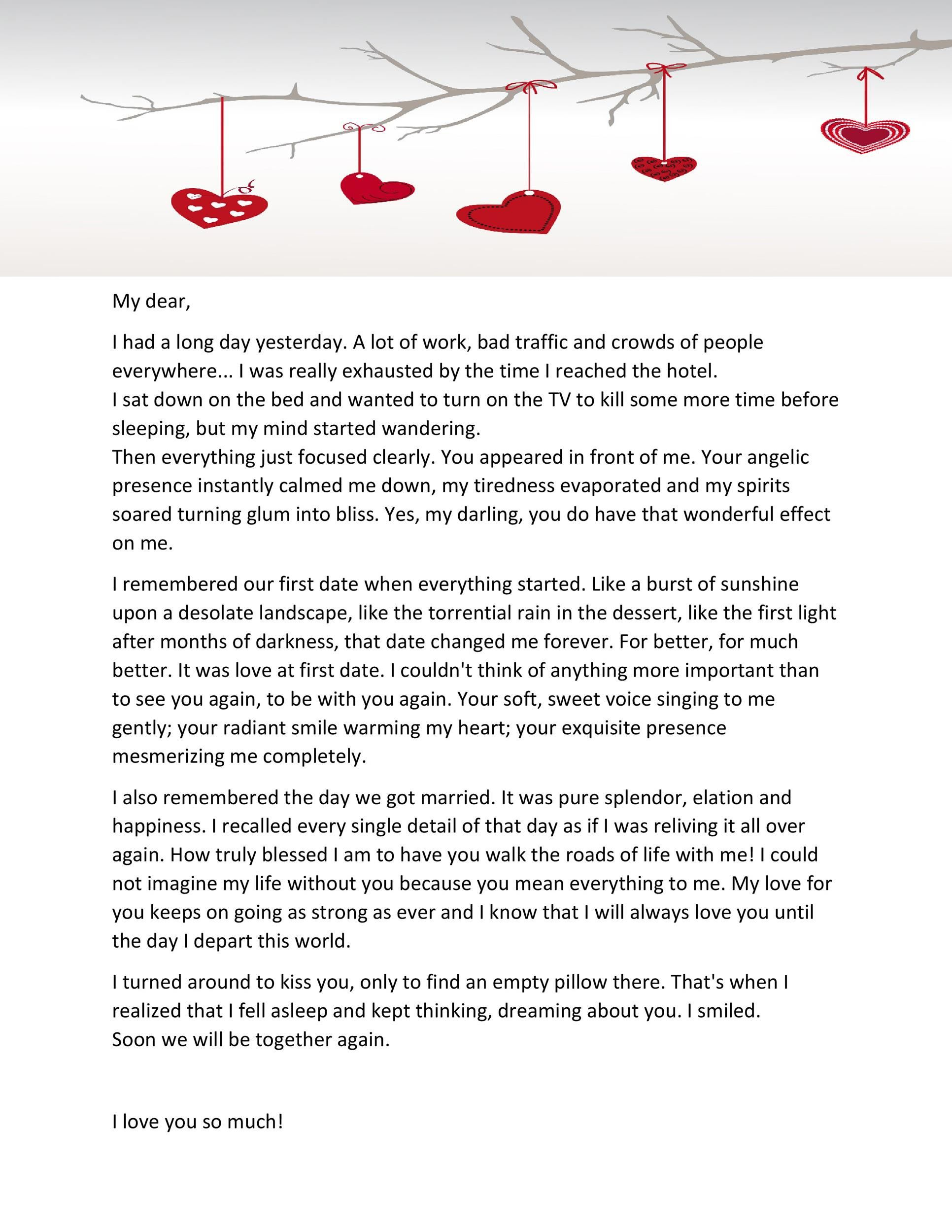 Romantic Love Letters for Him | Love letter to girlfriend