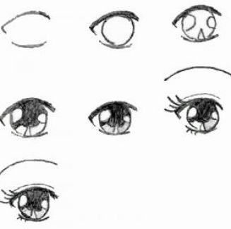 Anime Step By Step Drawing Eyes How To Draw Anime Eyes Step By Step Pictures 2 How To Draw Anime Eyes Lips Drawing Drawings