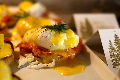 Eggs Benedict Bar - ingenious.