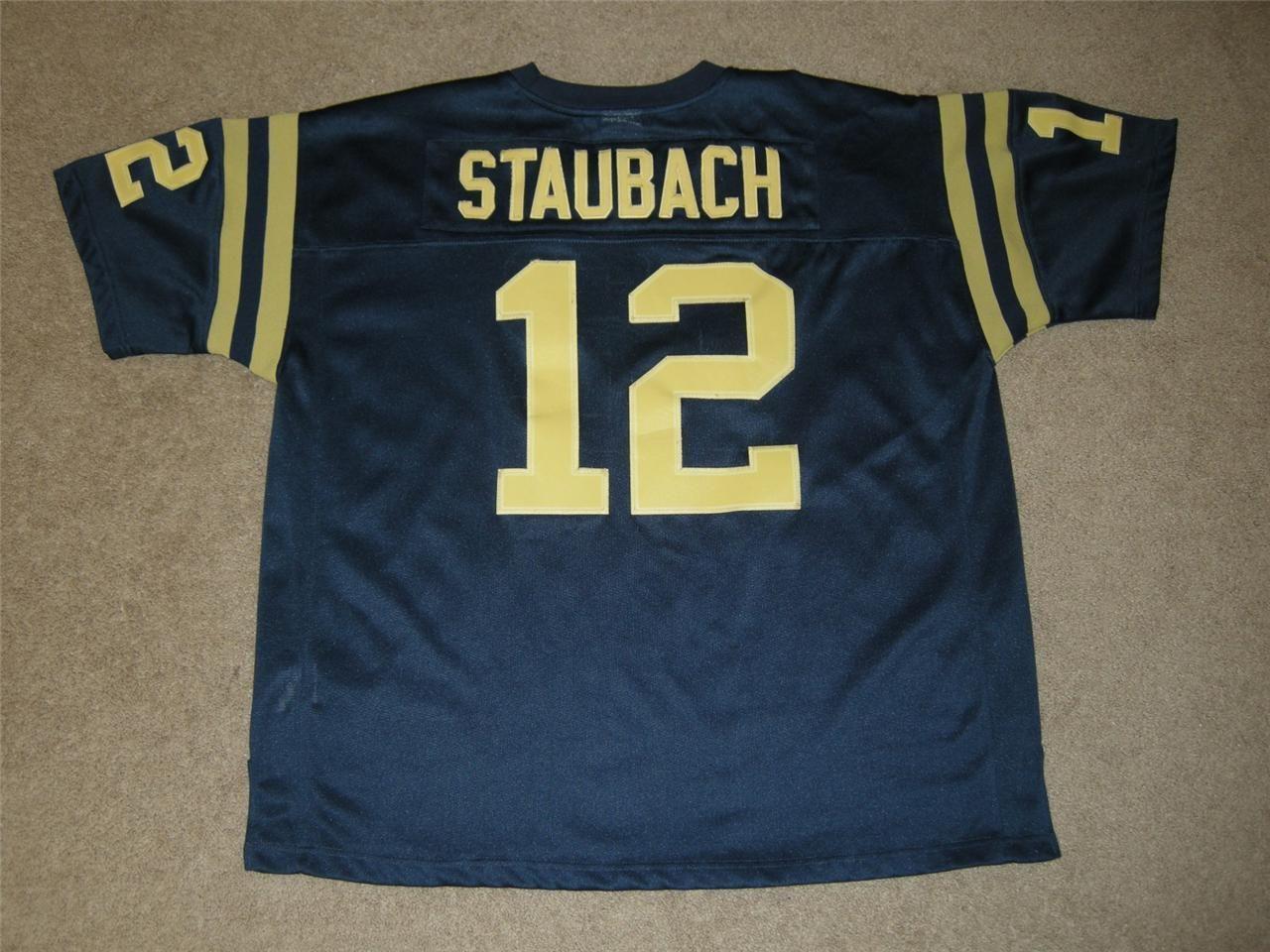 d328edb91db #12 ROGER STAUBACH U.S. Naval Academy NCAA Quarterback 1962-1964 and the  1963 Heisman