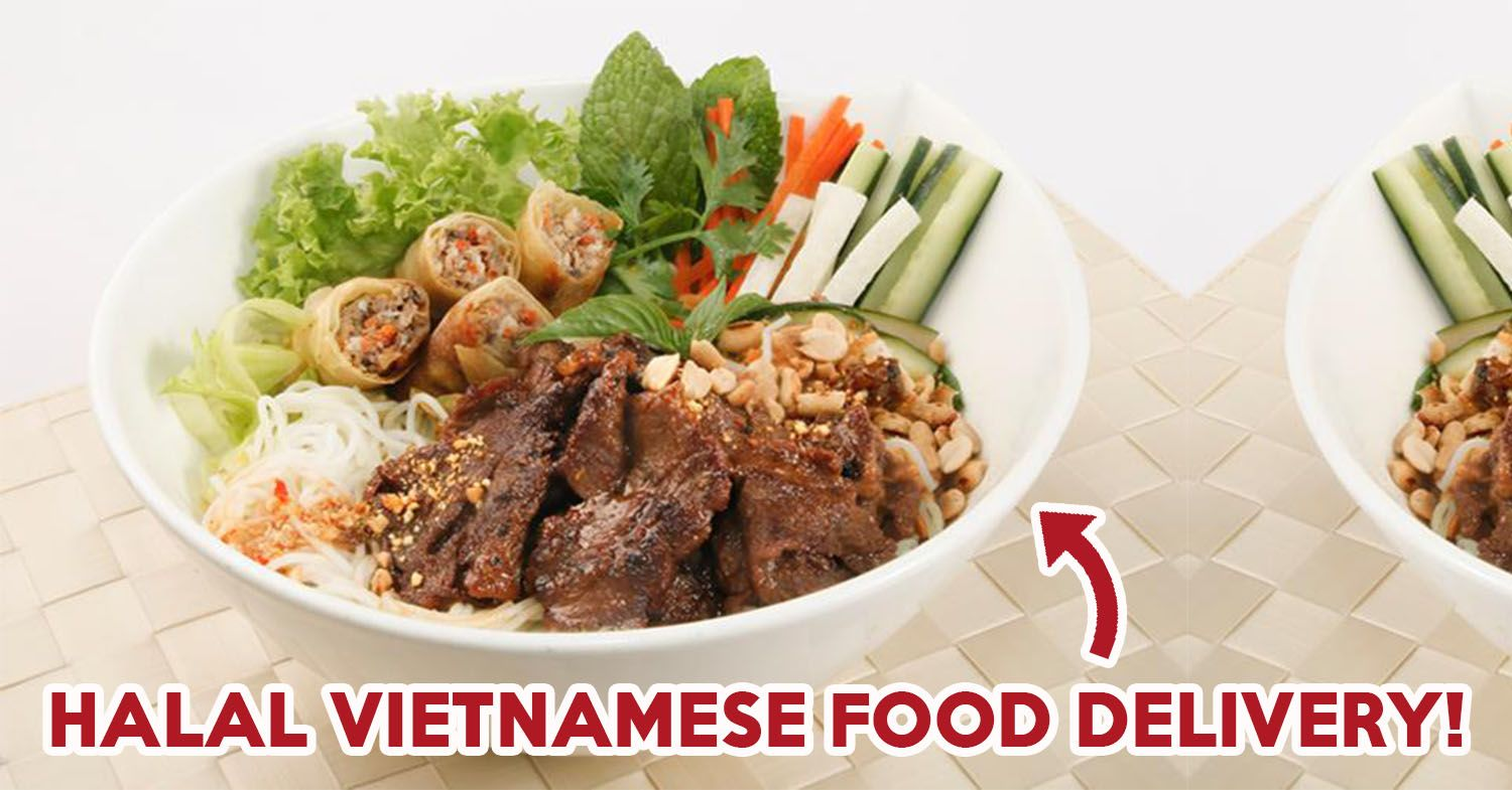 Halal Food Options In Singapore Are Aplenty And Many Of Them Deliver To Your Doorstep Check Out These For Your Next Dinner Halal Recipes Food Delivery Halal