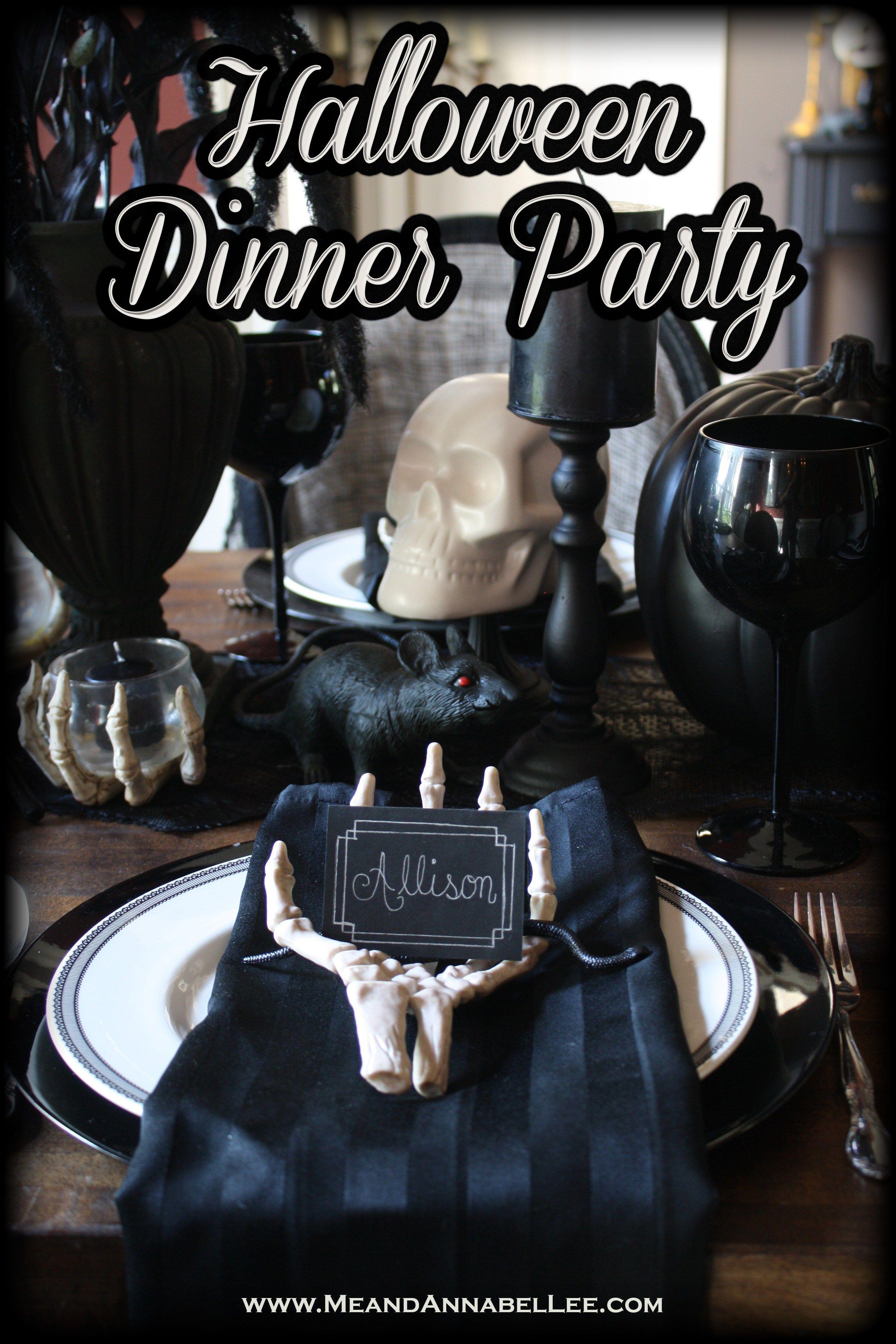 Halloween Dinner Party | Halloween dinner parties