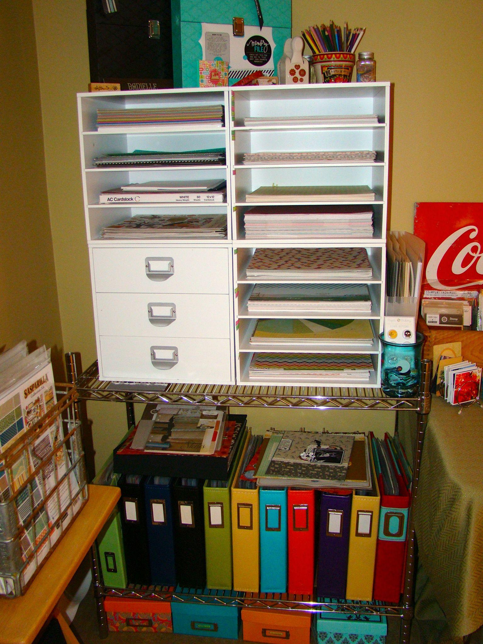 Paper Storage - Scrapbook.com   Scrapbook Paper Crafting Storage & Supply Organization ...