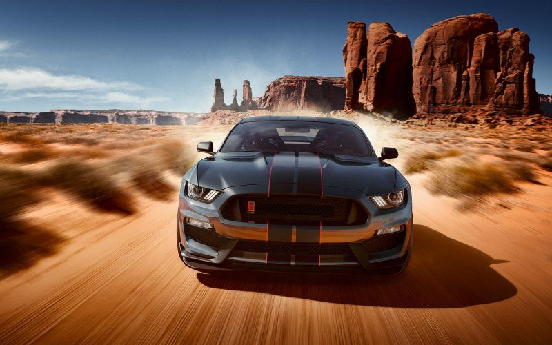 Ford Mustang Shelby Gt500 2018 Muscle Car Wallpaper Ford