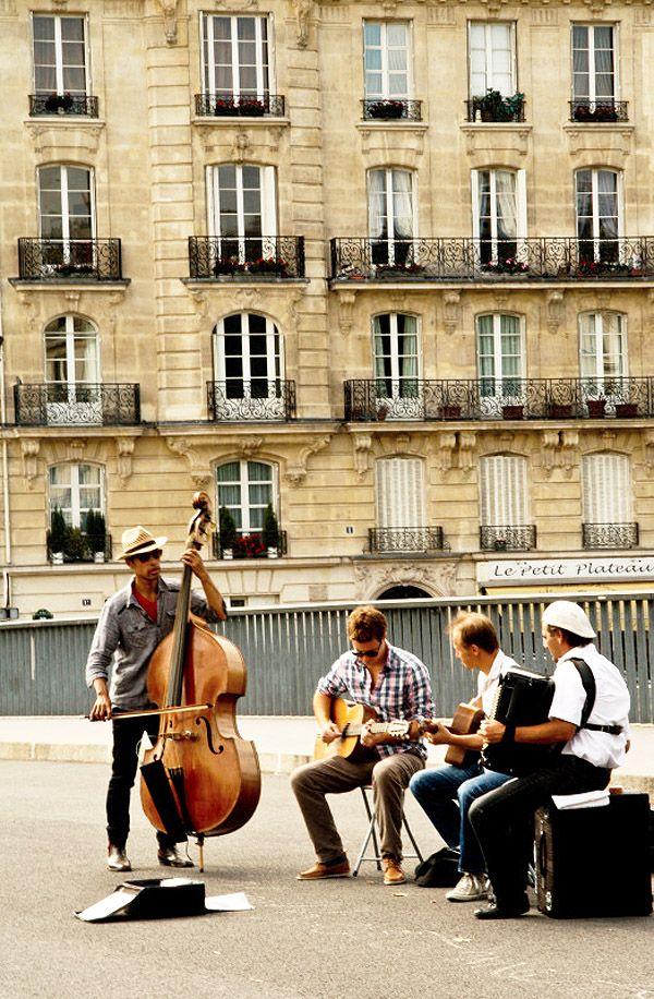 Música en las calles.