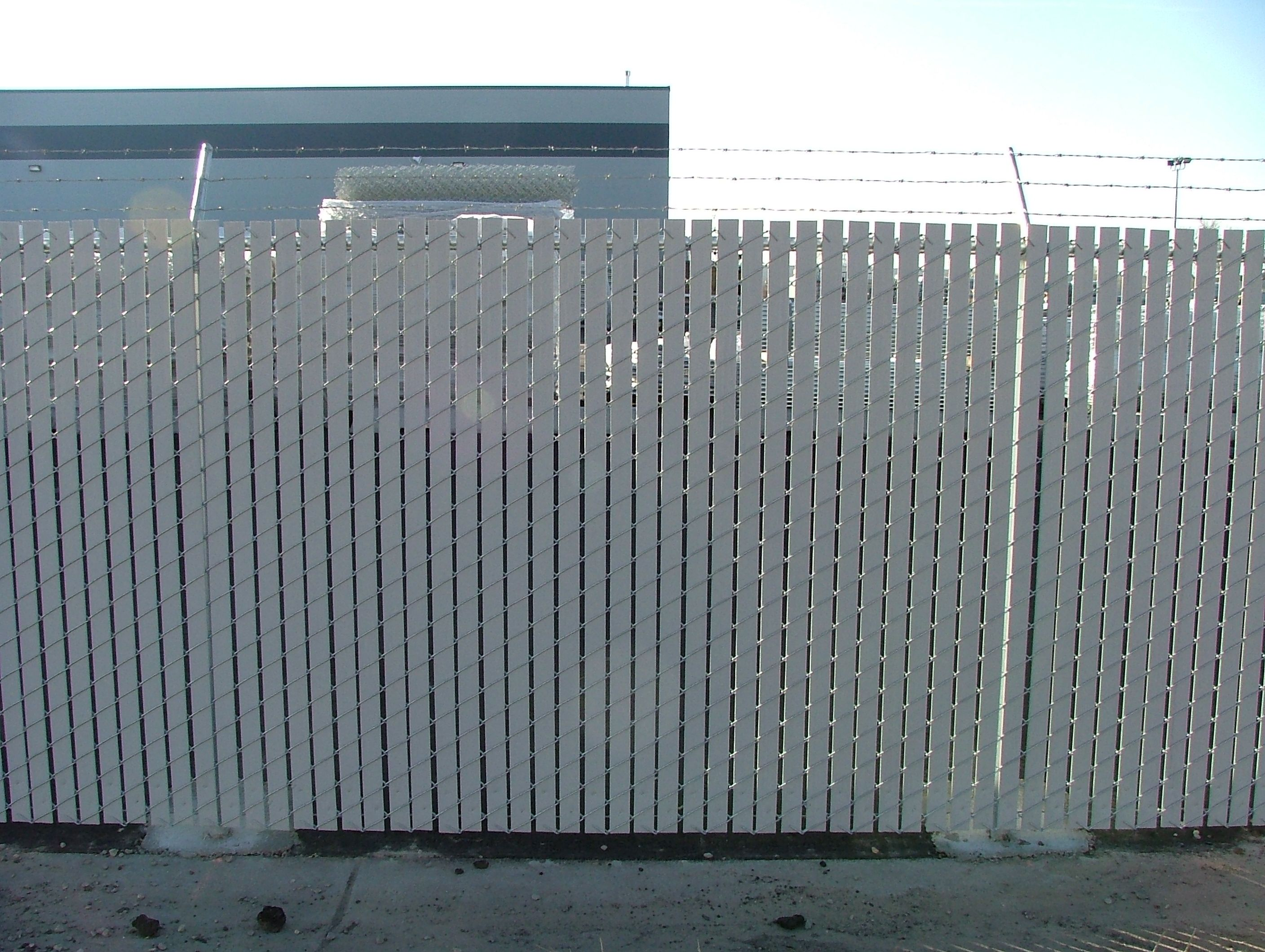 slats for chain link fence chain link fence privacy fence slats a little privacy please pinterest fence slats chain link fencing and privacy fences