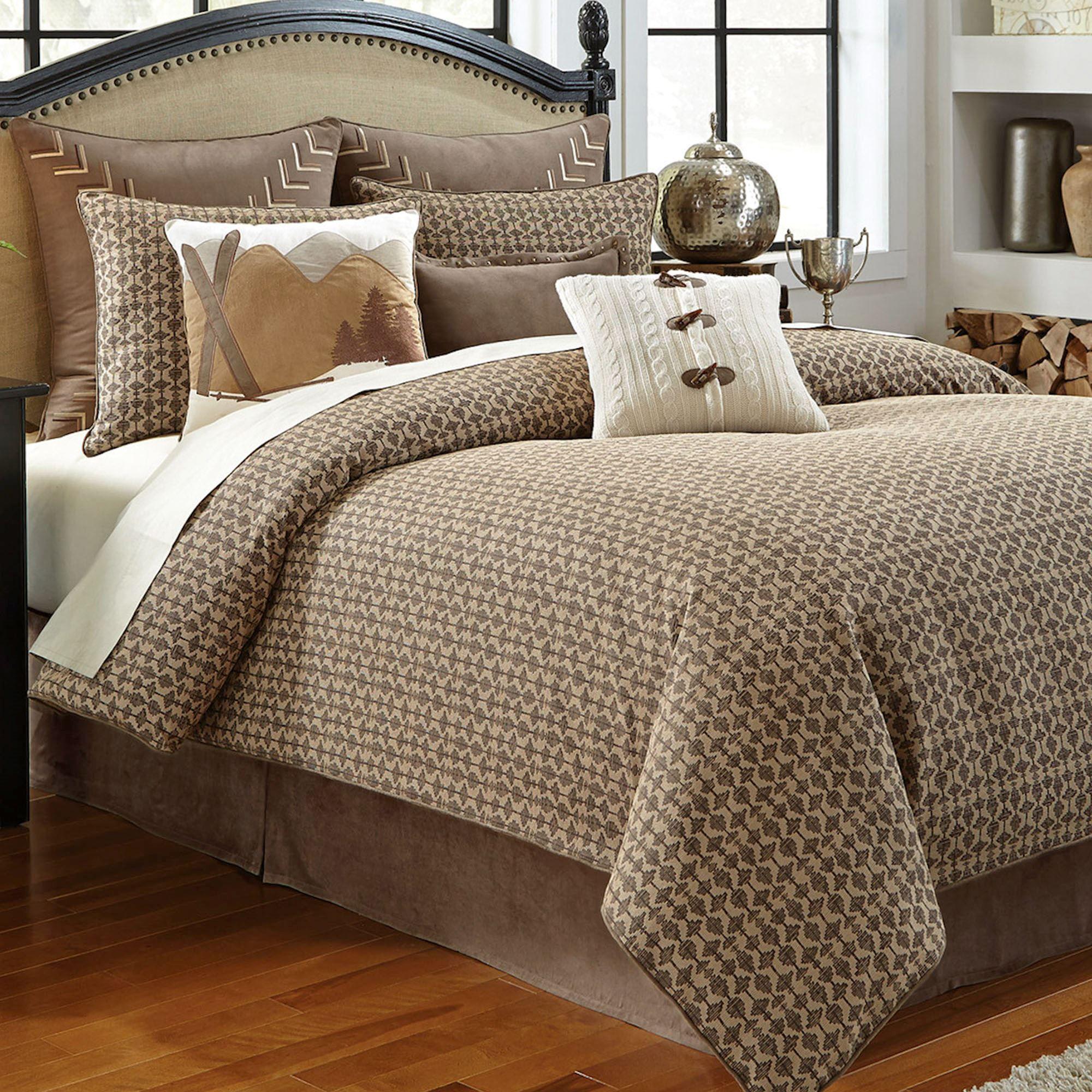 Aspen comforter set tan grey comforter sets linen
