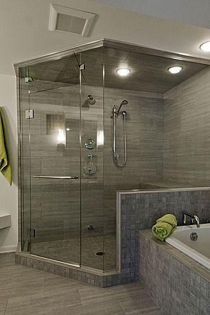 Hot Water Wakes Me Up In The Morning Puts Me To Sleep At Night Dream Bathroom Master Baths Bathroom Layout Luxury Bathroom