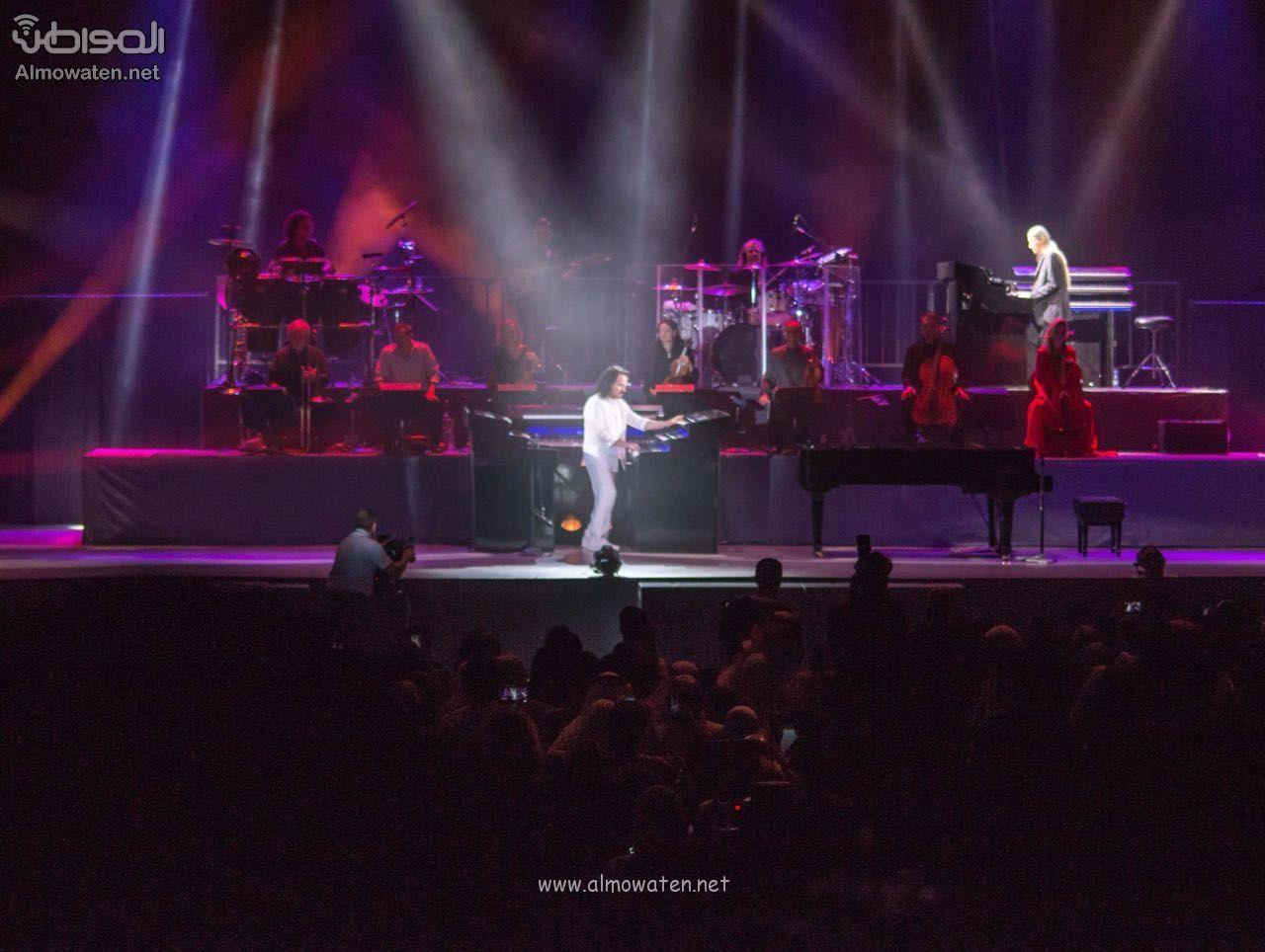 حفل ياني بعدسة المواطن ساعتان على مسرح مدينة الملك عبدالله الاقتصادية Concert