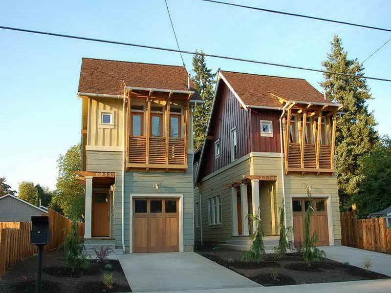 Extremely Narrow Lot Homes House Plans Narrow Lot With
