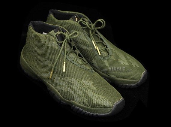 Olive Tiger Camo Air Jordan Future Sneakernews Com Air