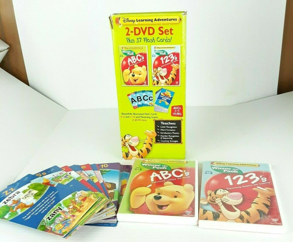Disney Learning Adventures Winnie The Pooh 2 Dvd Set Disneylearningadventures Dvd Set Disney Winnie The Pooh