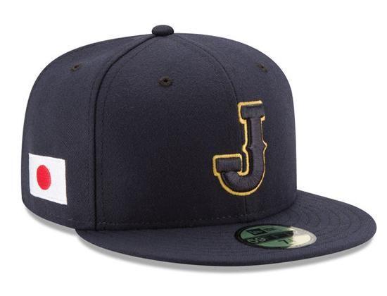 Japan 2017 World Baseball Classic 59fifty Fitted Cap By New Era World Baseball Classic Japan Baseball Mlb Baseball Caps
