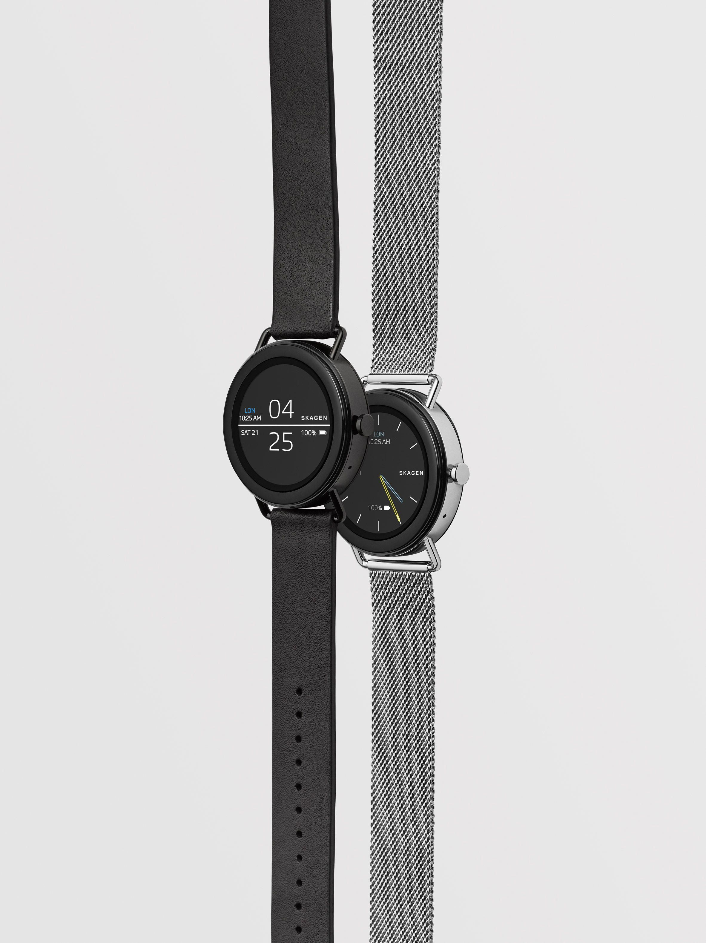 "Skagen's minimal smartwatch made without ""unnecessary"