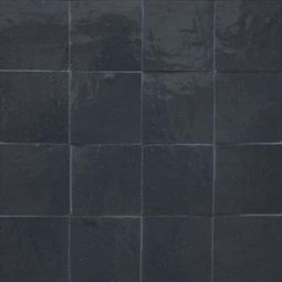 Moroccan Fez Tiles In Dark Gray Color 4 Inch By Square