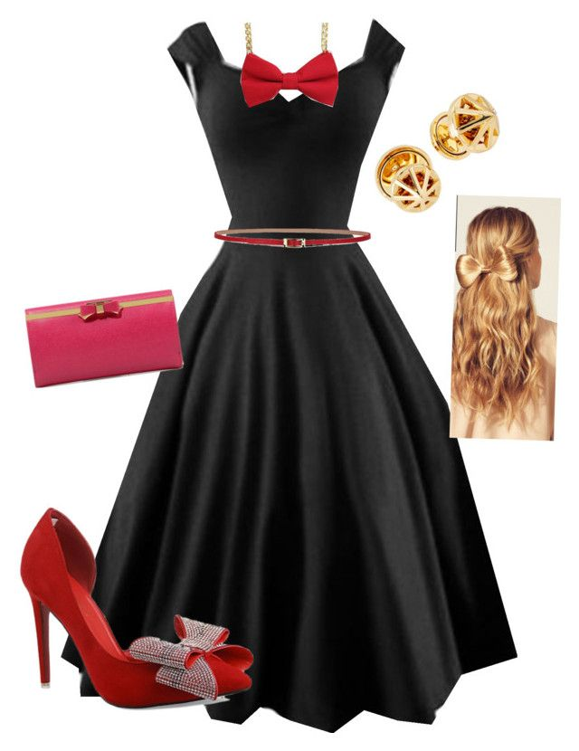 """""""Date Night"""" by snclarno on Polyvore featuring Rebecca Minkoff, CHARLES & KEITH and Hershesons"""