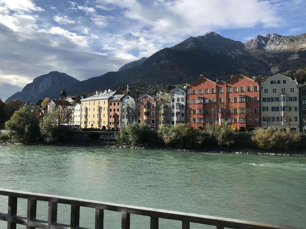 Inntal Radweg Mit Dem Fahrrad Am Innradweg Tirol Innsbruck