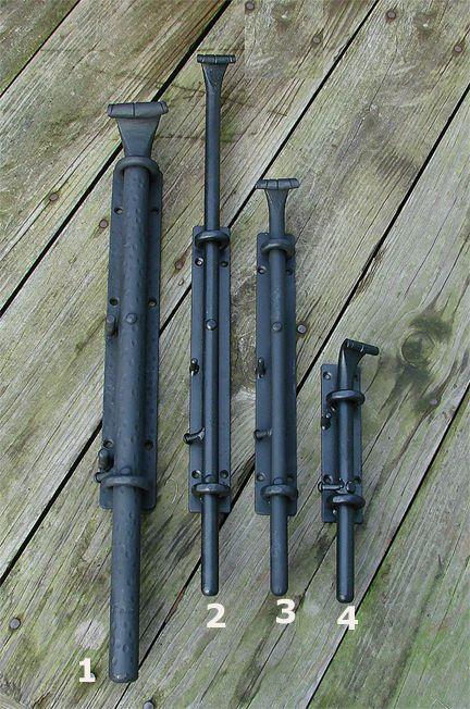 ロートアイアン 落し棒 スライド ボルト 建材 ボルト 電気温水器