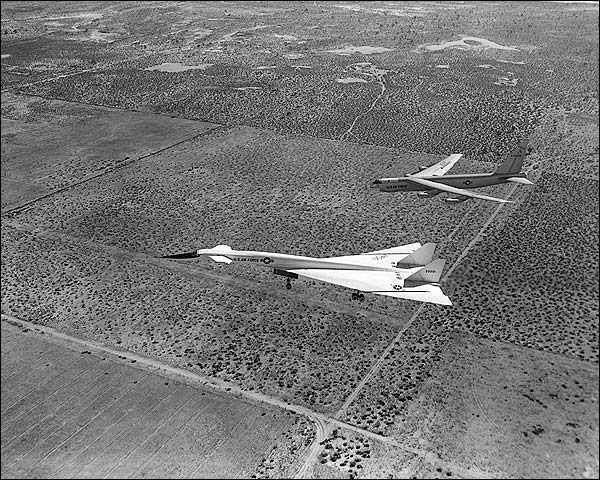XB-70 and B-52