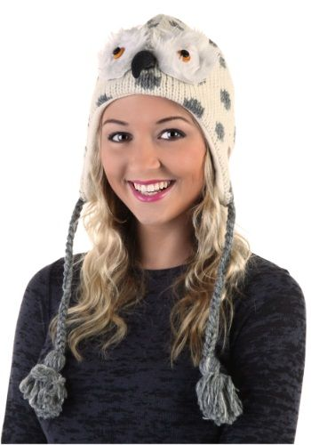 Give a hoot about hats? Then you've just got to get our Olly the Owl Hat! It's adorable, fuzzy, and perfect for snow owl fans.