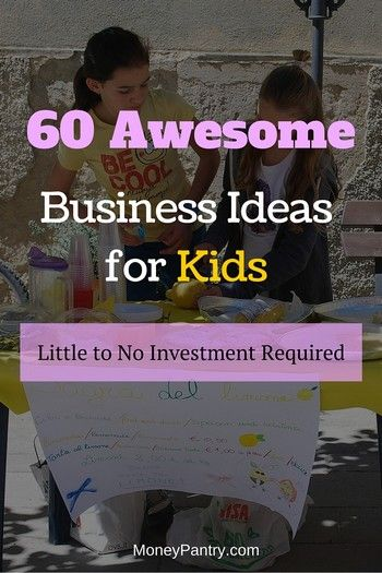 Creative business ideas for kids