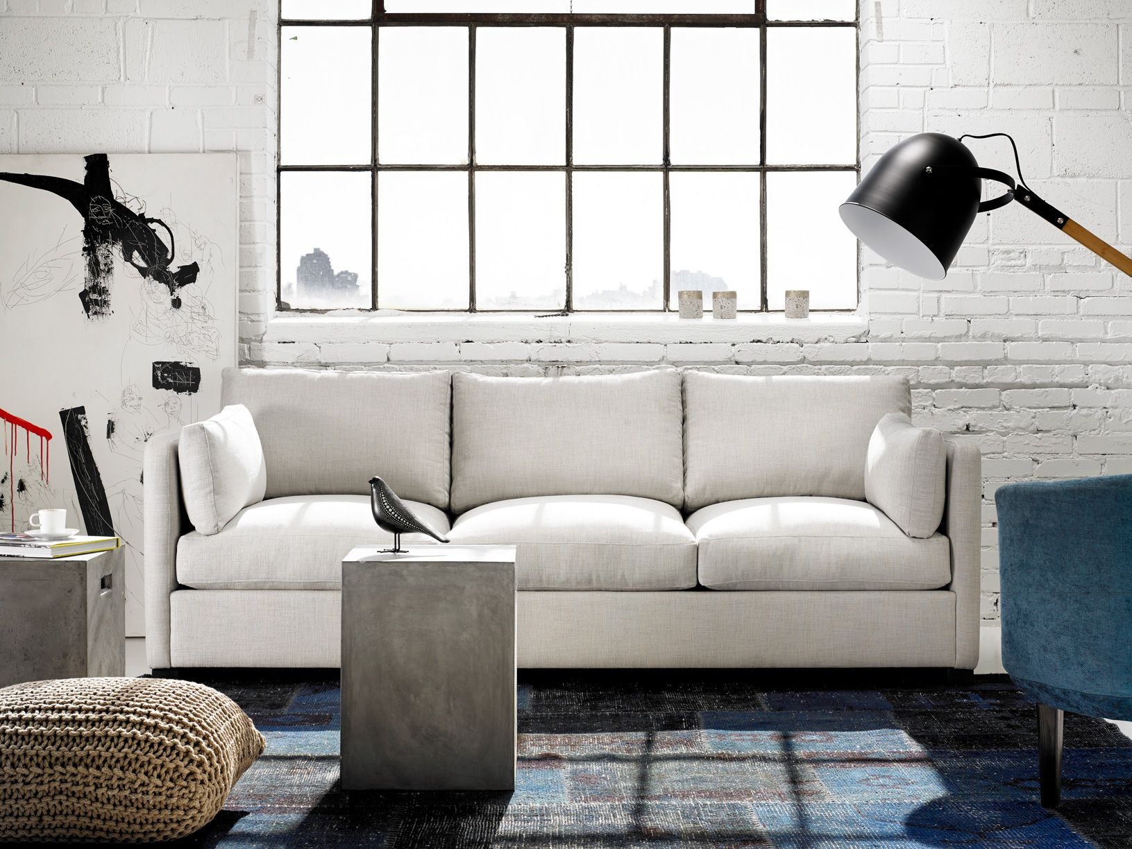 ABERDEEN Sofa Feather Down Comfort. Also Available As A Sectional. Made To  Order In