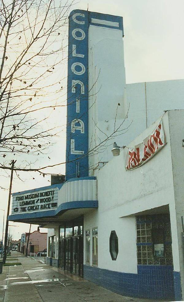 Colonial Theatre Sacramento Ca Ferry Building San Francisco