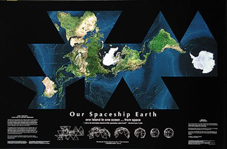 our spaceship earth satellite self portrait dymaxion map spectacular must be seen a truly stunning cloud free image of our world