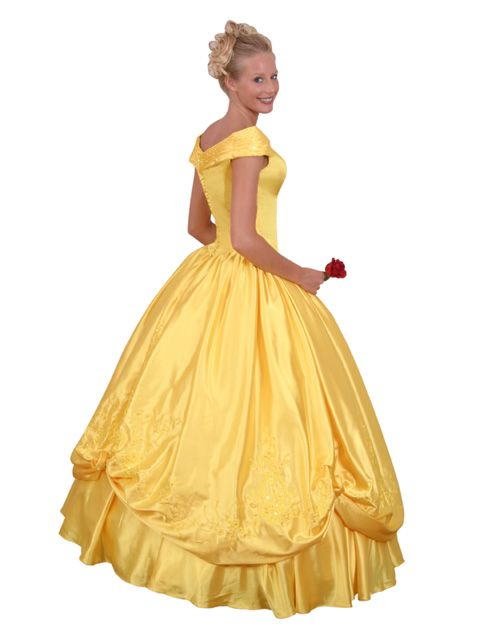 Bridesmaid just like belle 39 s dress beauty and the for Wedding dress like belle from beauty and the beast