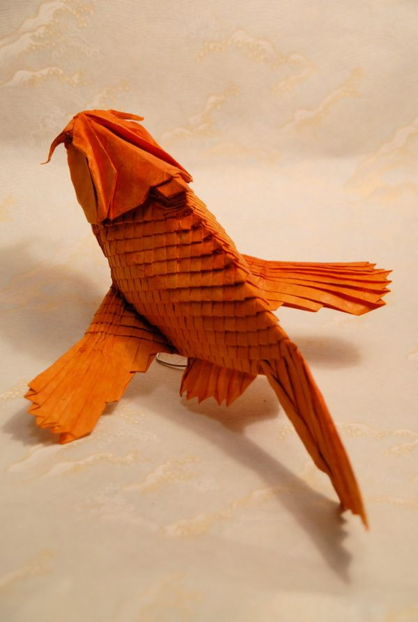 Origami: Flying Carp, by Brian Chan  http://web.mit.edu/chosetec/www/origami/