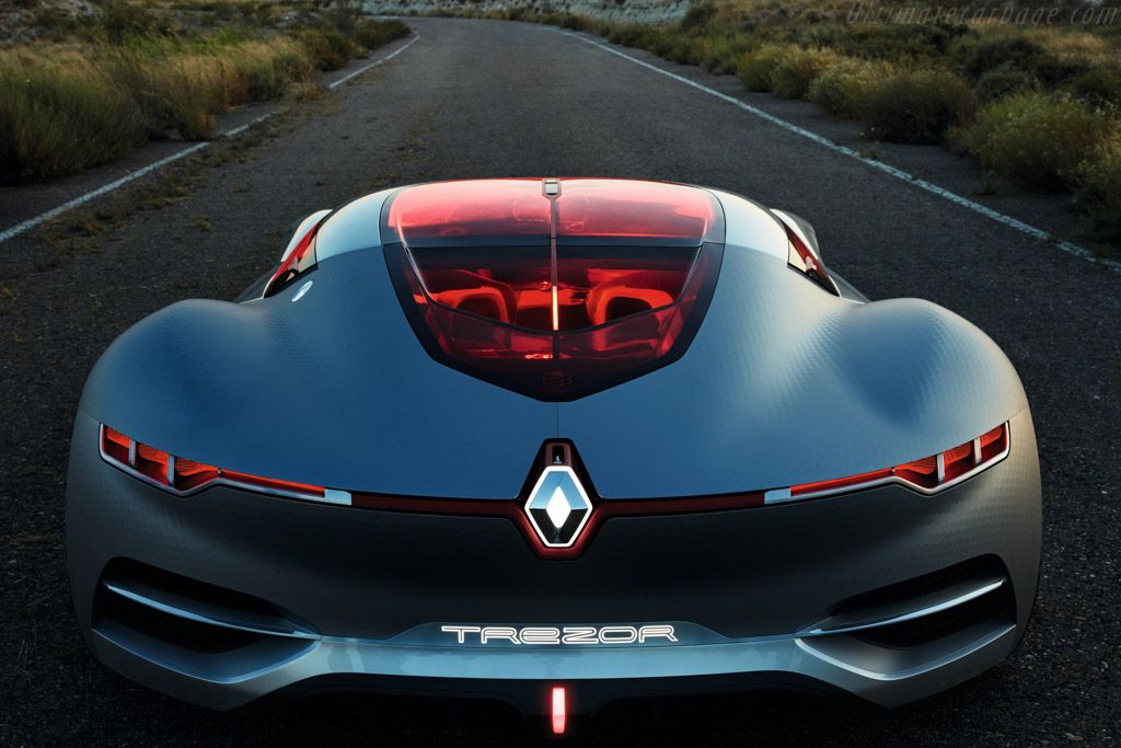 Renault Trezor Concept Concept cars, Electric sports car