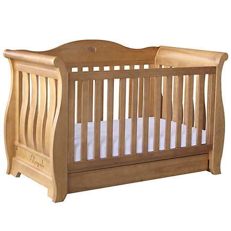 Boori Country Sleigh Royale 3 In 1 Cot Bed