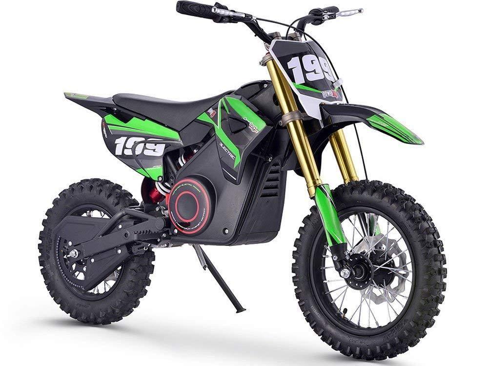 Mototec 36v Pro Electric Dirt Bike 1000w Lithium Green Electric