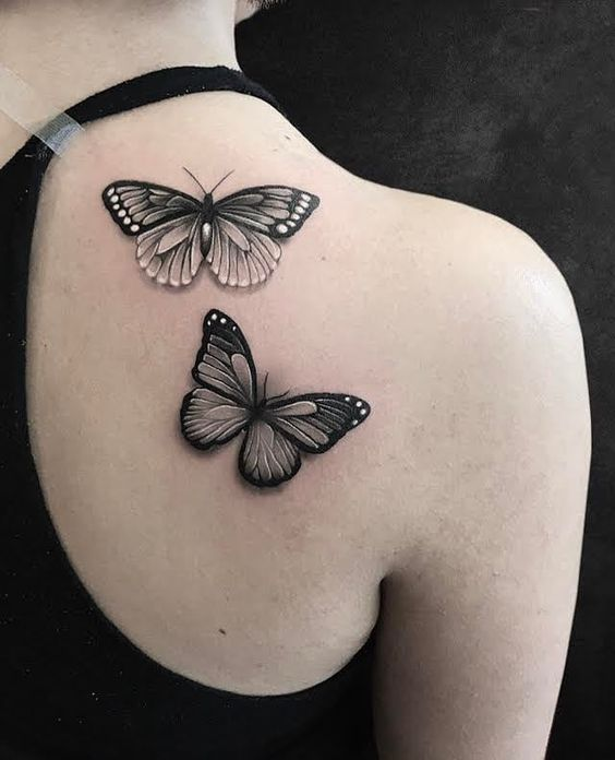 Photo of 32 wunderbare Schmetterlings-Tätowierungs-Ideen für hübsche Tätowierungs-Liebhaber! Isabellestyle Blog