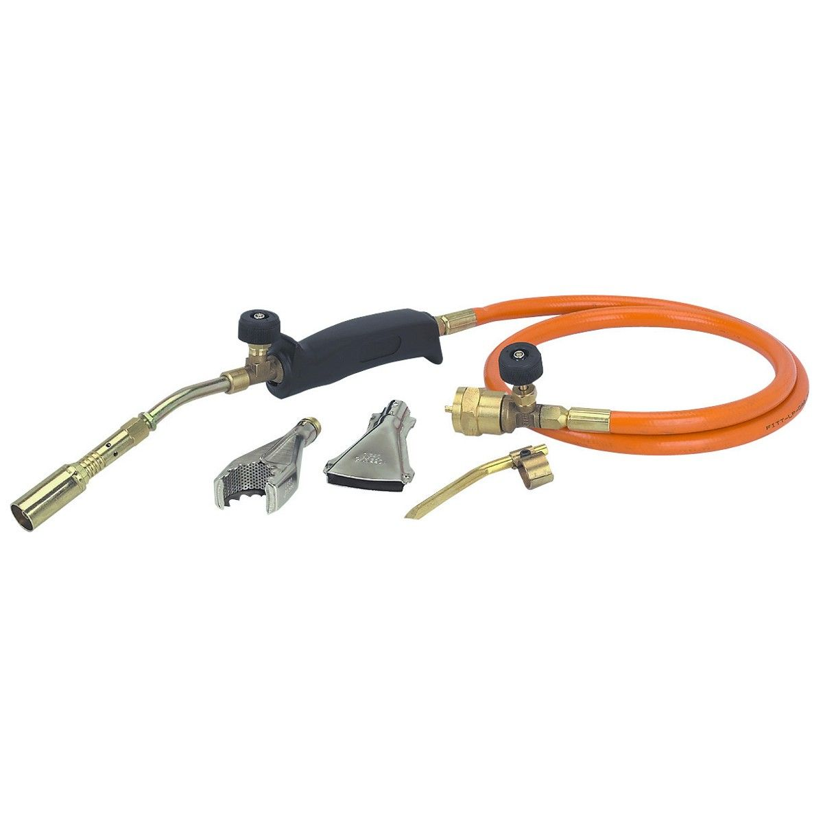 Propane Torch With Three Burners Brazing Welding Accessories Soldering Tools
