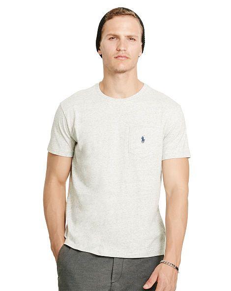 edca6d92b6cd Cotton Jersey Pocket T-Shirt - Polo Ralph Lauren Tees - RalphLauren ...