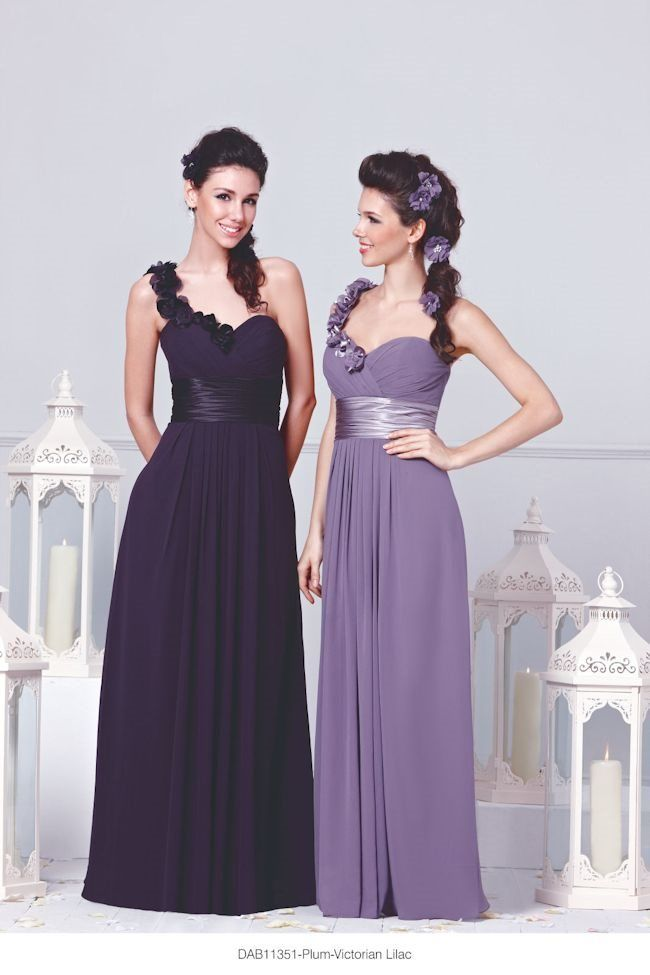 Summer\'s Hottest Purple Bridesmaid Dresses; DZage style DAB11351 in ...