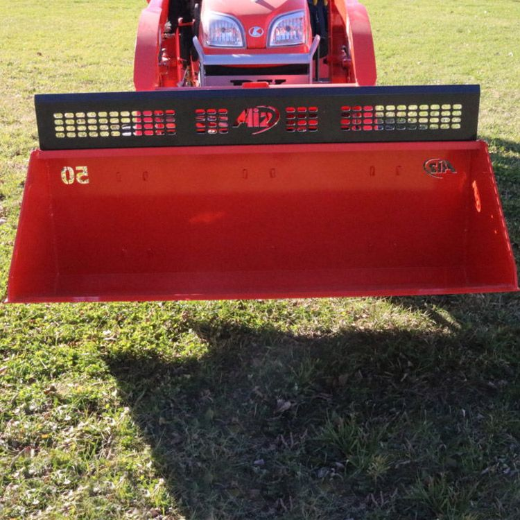 Spill Guard Attachment For Kubota Bx Series 50  Dirt Bucket & Snowplow Attachment For Kubota BX Series Tractors | Kubota Tractor ...