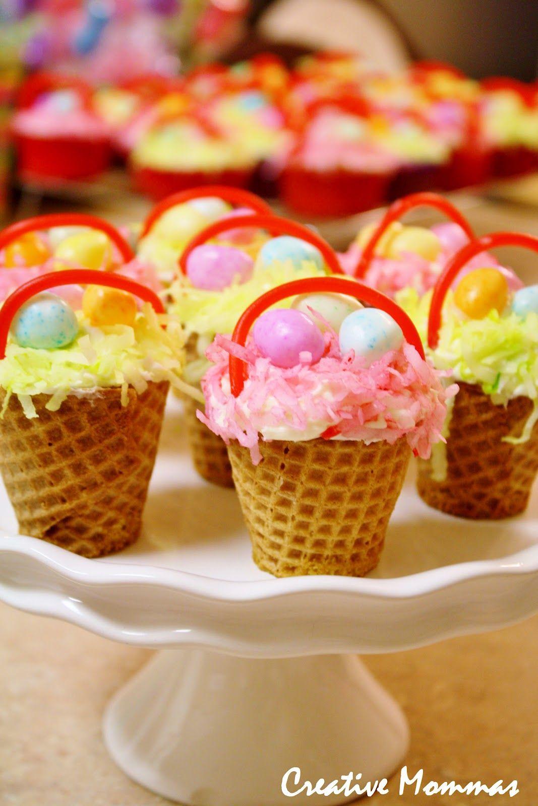 Creative mommas easter basket cupcakes cupcake easter dessert creative mommas easter basket cupcakes cupcake easter dessert negle Images