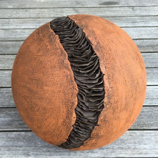 Dekokugel aus Ton, frostfest Sphères - Jarres boule Pinterest - figuren aus ton selber machen