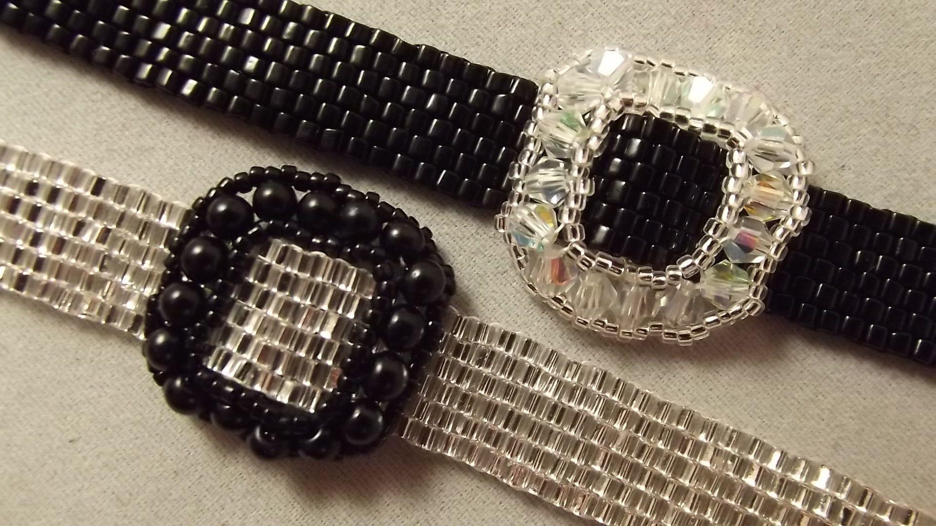 """How to do simple bracelet """"Dwarfs belt"""""""