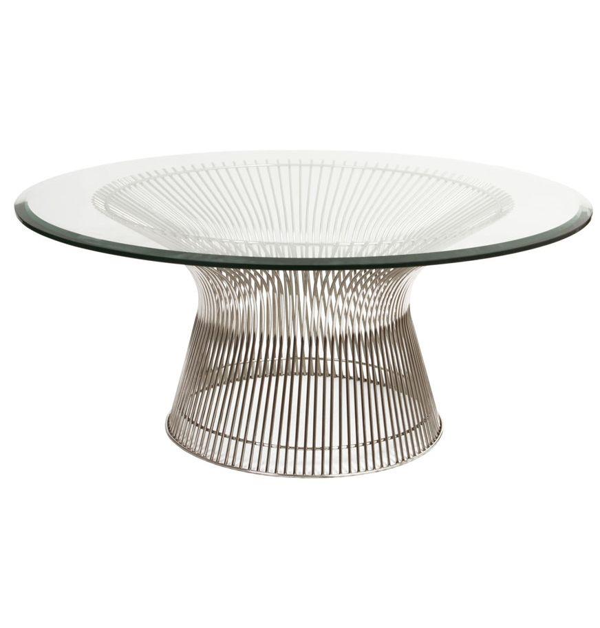 platner coffee table replica