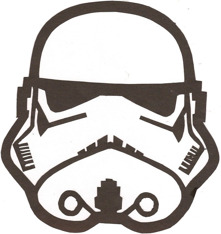 Stormtrooper Helmet Drawing
